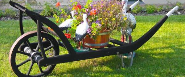 Gartendekorationen - eine überzeugende Produktvielfalt