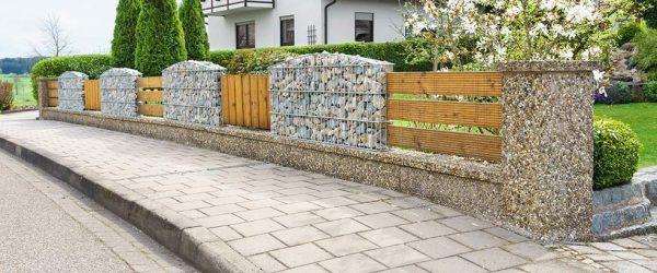 Gabionenzäune – moderner Sichtschutz für den Garten
