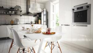 Dekoratives Arrangement der Küche